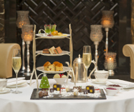 Christmas Snow Scene Afternoon Tea With Champagne featured offer thumbnail