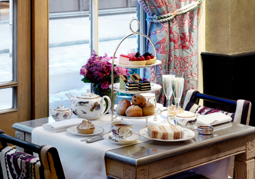 Afternoon Tea at Covent Garden Hotel