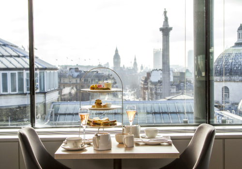 Restaurants Near National Portrait Gallery London