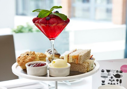 Afternoon Tea at Hilton Garden Inn Birmingham Brindleyplace