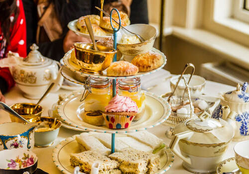Afternoon Tea At The Living Room Hotel Bournemouth
