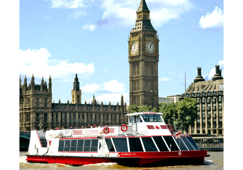 City Cruises River Thames Afternoon Tea Cruise