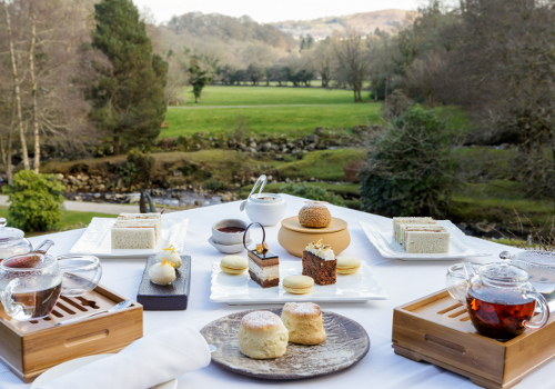 Gidleigh park afternoon tea