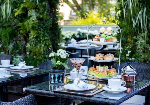 Afternoon Tea At Montague On The Gardens Bloomsbury